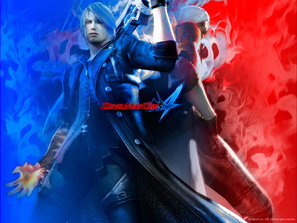 Devil May Cry Fanarts Dmc4wall3_1024