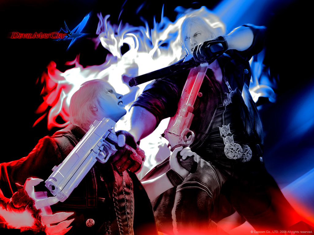 Devil May Cry Fanarts Dmc4wall4_1024
